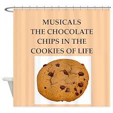 musicals Shower Curtain