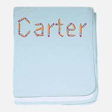 Carter Pencils baby blanket