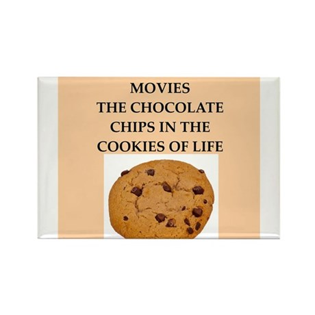 movies Rectangle Magnet (100 pack)