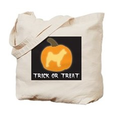 "Akita ""Trick or Treat"" Tote Bag"