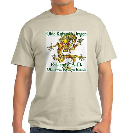 Olde Kubasaki Dragon Ash Grey T-Shirt