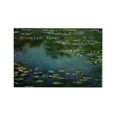 Funny Claude monet Rectangle Magnet (10 pack)