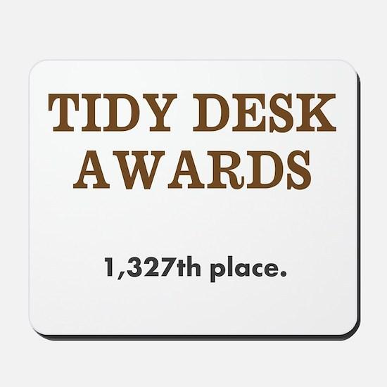 Coworker Practical Joke Spoof Award Mousepad
