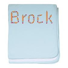 Brock Pencils baby blanket