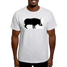 Warthog Ash Grey T-Shirt