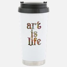 Art is Life Travel Mug