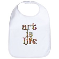 Art is Life Bib