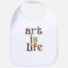 Art is Life Bib