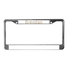 Brendan Pencils License Plate Frame