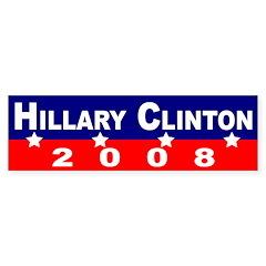 Hillary Clinton 2008 (bumper sticker)