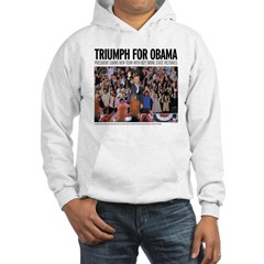 Triumph for Obama Hoodie