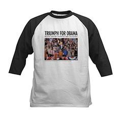 Triumph for Obama Kids Baseball Jersey