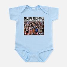 Triumph for Obama Infant Bodysuit