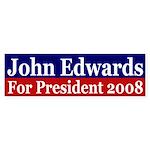 John Edwards 2008 (bumper sticker)