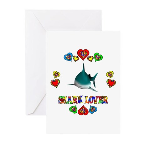 Shark Lover Greeting Cards (Pk of 20)