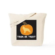 """German Shepherd """"Trick or Treat"""" Tote Bag"""