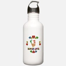 Rooster Lover Water Bottle