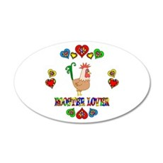 Rooster Lover Wall Decal