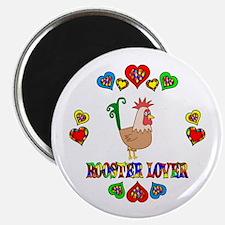 "Rooster Lover 2.25"" Magnet (10 pack)"