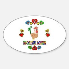Rooster Lover Decal