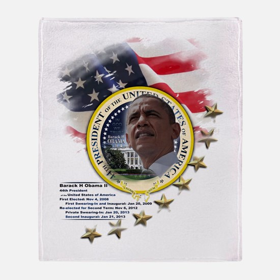 44th President: Throw Blanket