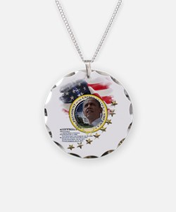 44th President: Necklace Circle Charm