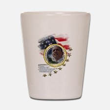 44th President: Shot Glass