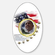 44th President: Sticker (Oval)