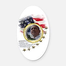 44th President: Oval Car Magnet