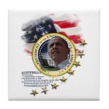 44th President: Tile Coaster