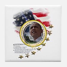 44th President: Tile Coaster