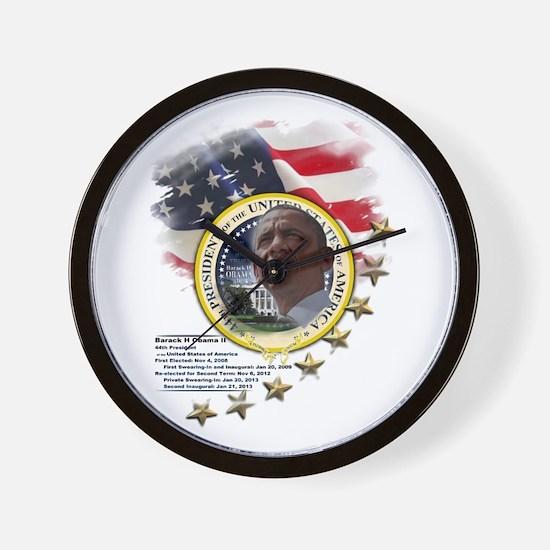 44th President: Wall Clock