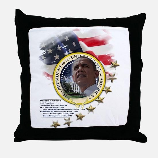 44th President: Throw Pillow