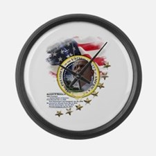 44th President: Large Wall Clock