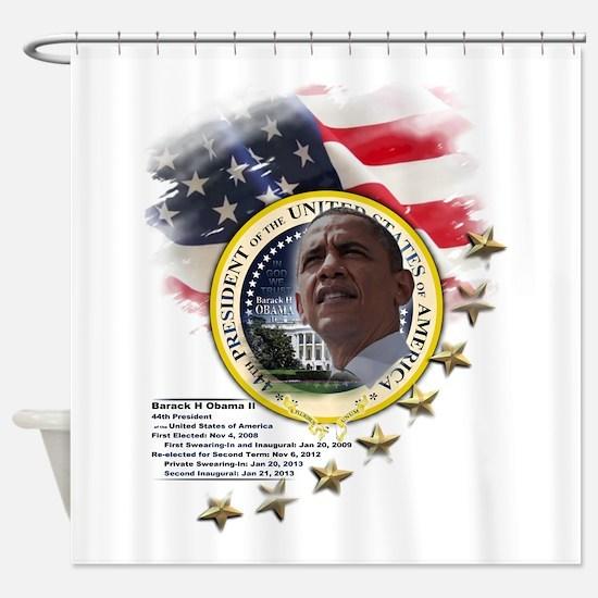 44th President: Shower Curtain