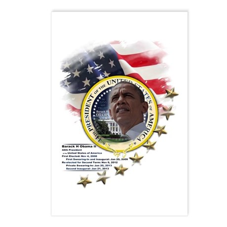 44th President: Postcards (Package of 8)