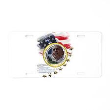44th President: Aluminum License Plate