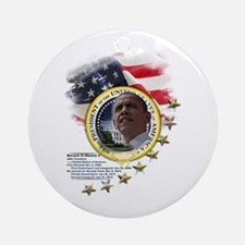 44th President: Ornament (Round)