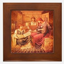 Music of a Bygone Age Framed Tile