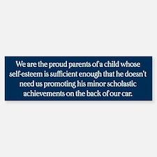 We Are The Proud Parents Bumper Bumper Sticker