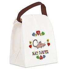 Rat Lover Canvas Lunch Bag