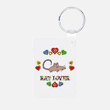 Rat Lover Keychains
