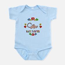 Rat Lover Infant Bodysuit
