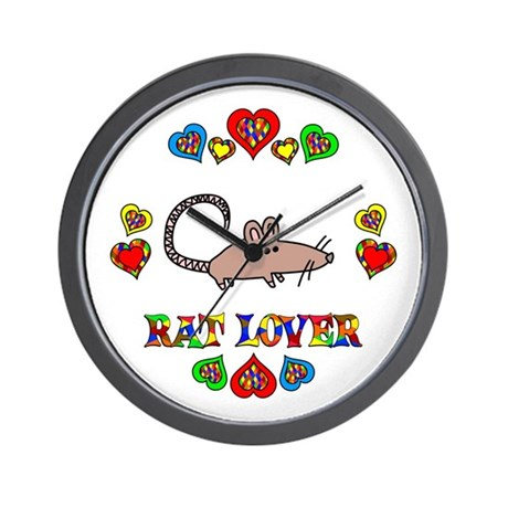 Rat Lover Wall Clock