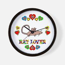 Rat Lover Wall Clock