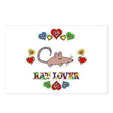 Rat Lover Postcards (Package of 8)