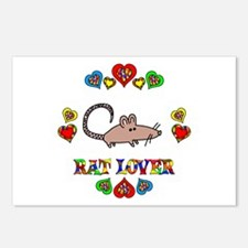 Rat Lover Postcards (Package of 8)