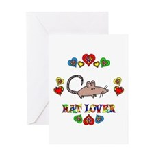 Rat Lover Greeting Card