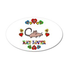 Rat Lover Wall Decal