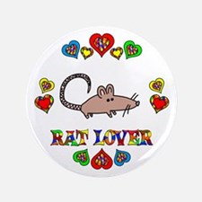 """Rat Lover 3.5"""" Button (100 pack)"""